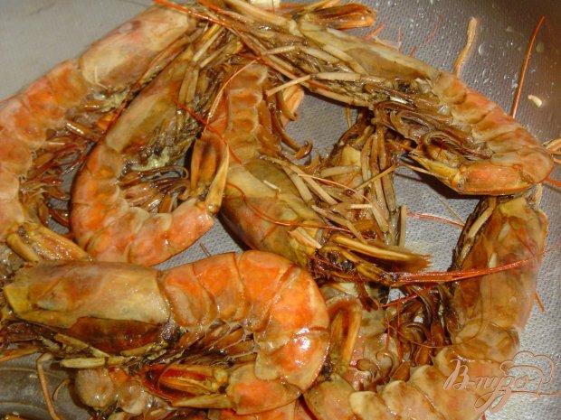 Рецепт Королевские креветки жареные
