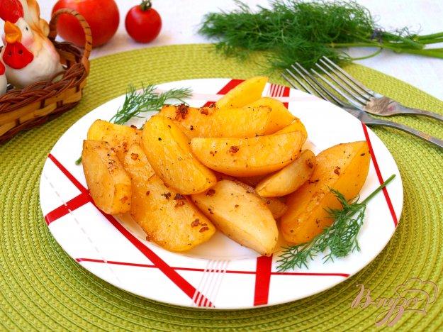 фото рецепта: Картошка запечённая в соевом соусе
