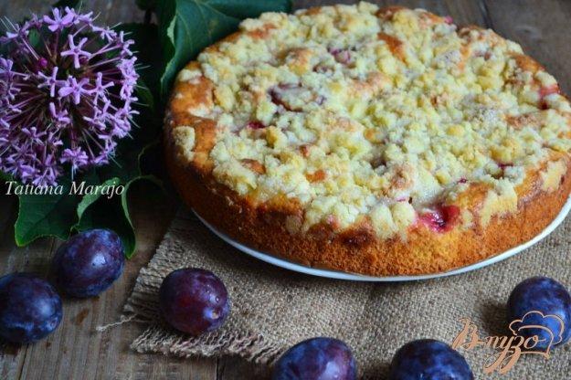 фото рецепта: Сливовый пирог