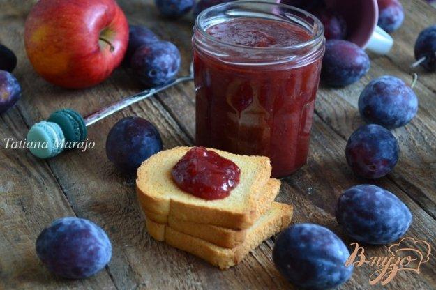 фото рецепта: Яблочно-сливовое повидло
