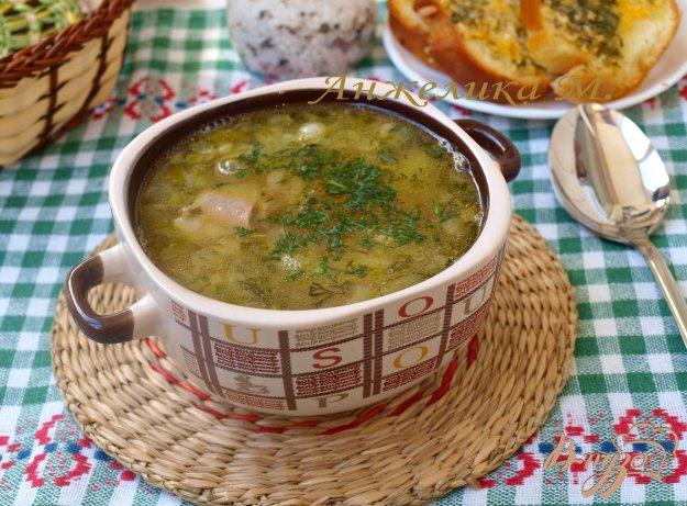 фото рецепта: Суп с говядиной и фасолью