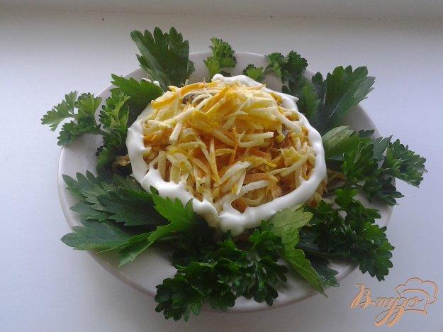 фото рецепта: Салат из свинины и редьки