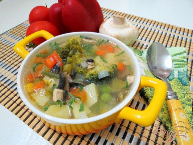 фото рецепта: Суп овощной