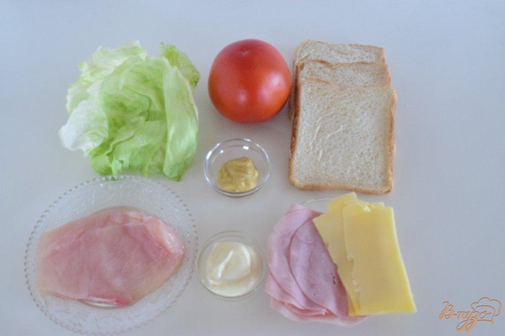 Рецепт Клаб-сендвич