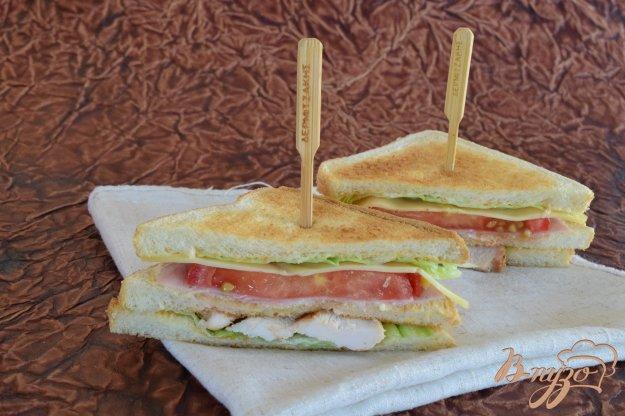 фото рецепта: Клаб-сендвич
