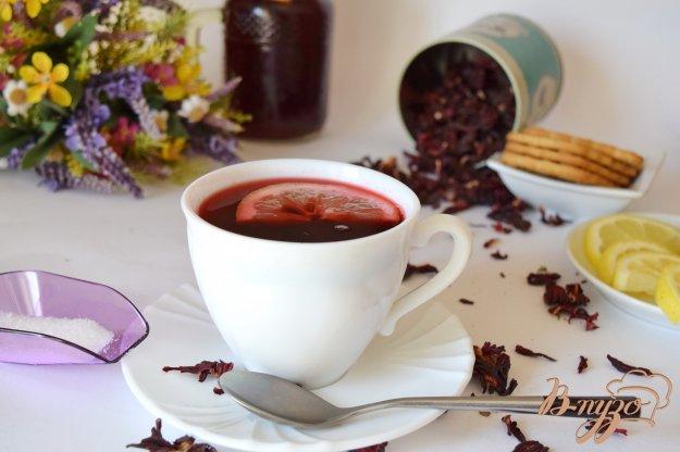 фото рецепта: Чай каркаде с пряностями
