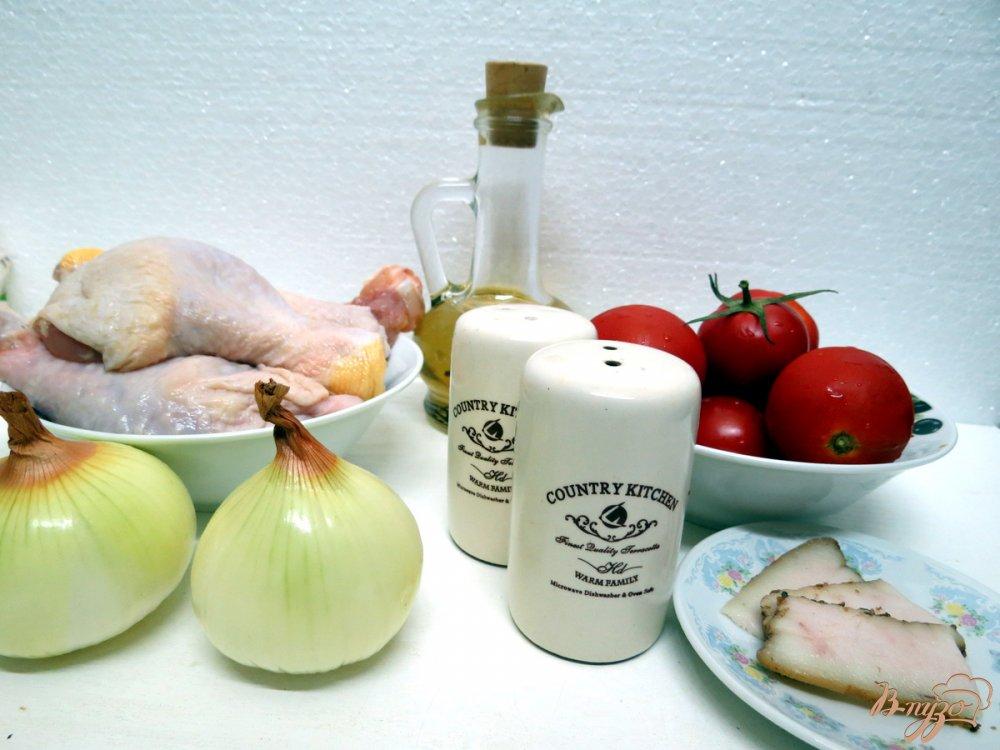 Рецепт Куриные ножки в томатном соусе