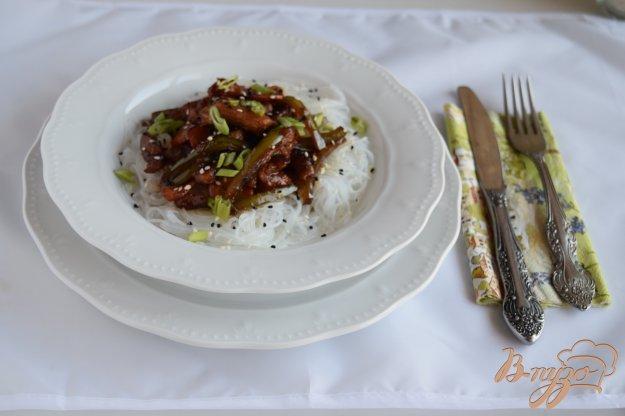 фото рецепта: Свинина в вустерском соусе