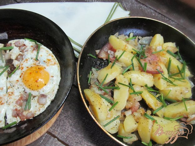 фото рецепта: Деревенский завтрак