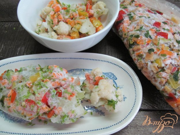фото рецепта: Как заморозить овощи на зиму для первых блюд