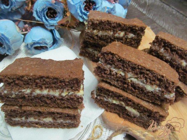 фото рецепта: Шоколадные пирожные