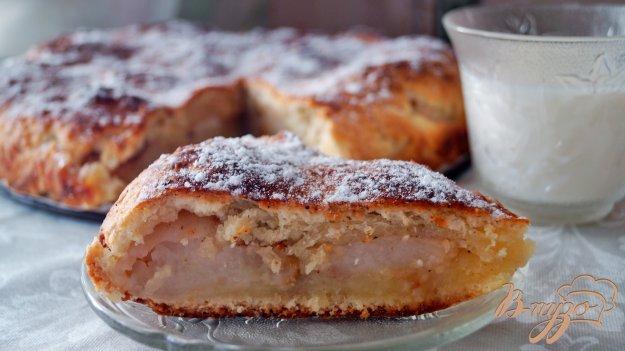 фото рецепта: Сочный пирог с яблоками