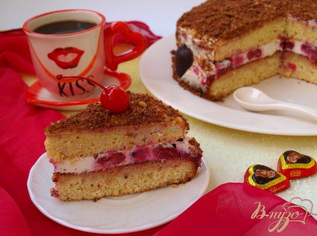 фото рецепта: Торт с вишнями