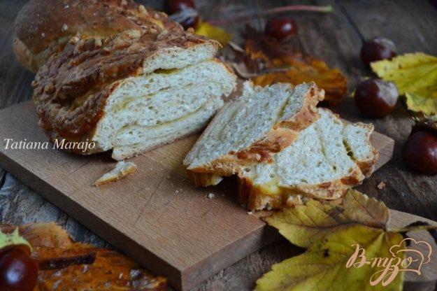 фото рецепта: Овсяный хлеб с сыром