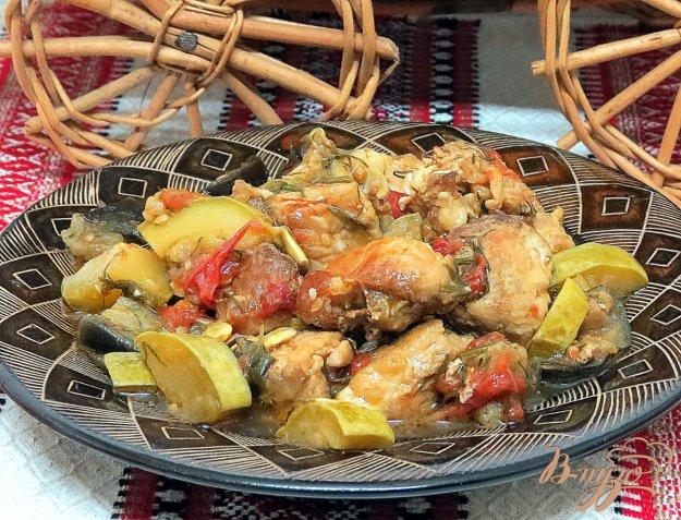 фото рецепта: Мясо с овощами