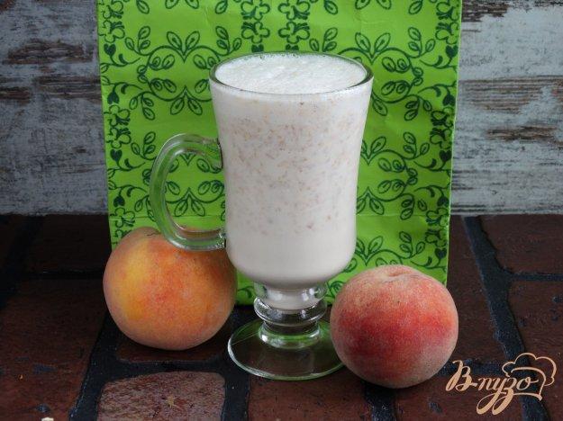 фото рецепта: Персиковый милкшейк