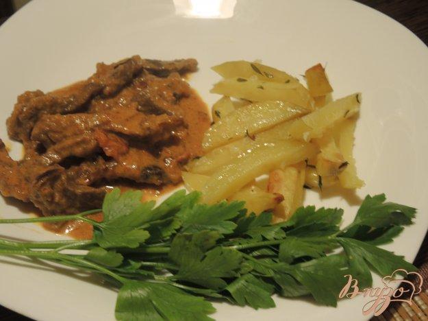 фото рецепта: Мясо по-строгановски