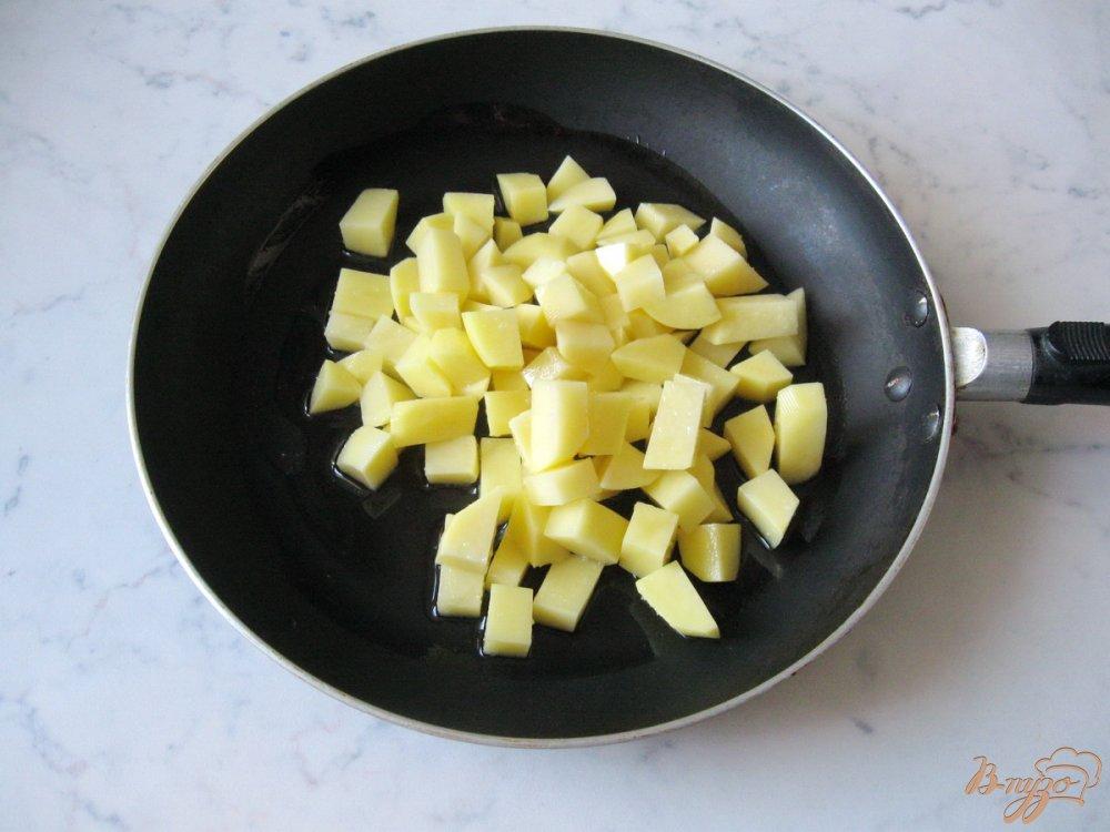 Рецепт Картофельно-овощная запеканка.