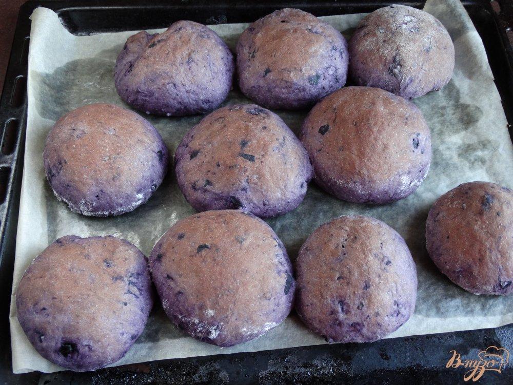 Черничные булочки
