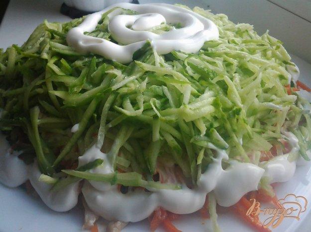 фото рецепта: Салат с курицей и морковью по-корейски
