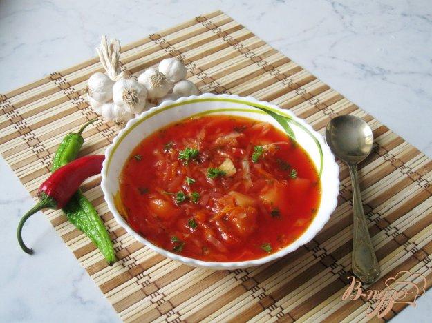 фото рецепта: Вегетарианский борщ