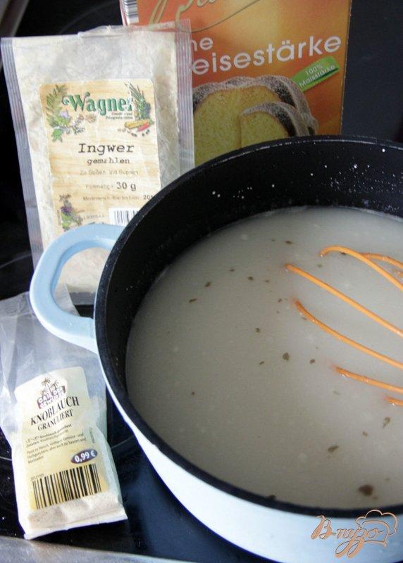 Рецепт Яичный суп с кукурузой и сыром