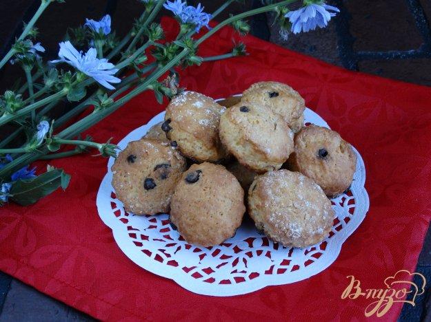 фото рецепта: Йогуртное печенье с шоколадными каплями