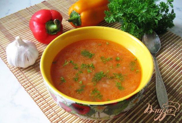 фото рецепта: Суп харчо с курицей