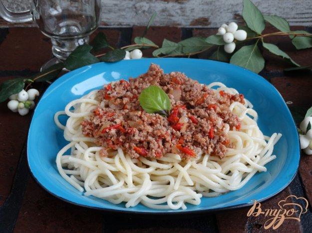 фото рецепта: Паста а-ля Болоньезе