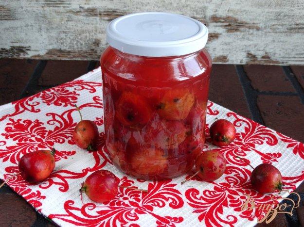 фото рецепта: Компот из райских яблок на зиму