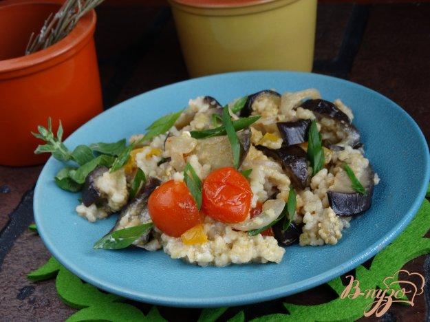 фото рецепта: Кус-кус с овощами в сливках