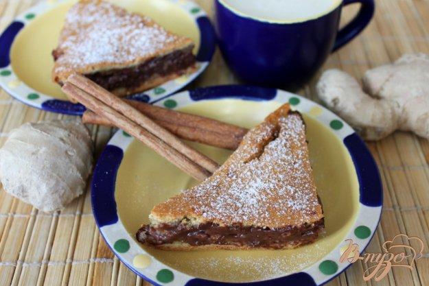 овсяный пирог с какао
