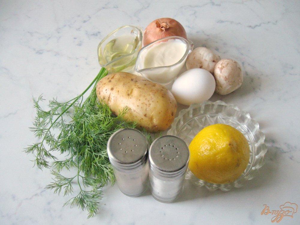 Рецепт Картофельные корзиночки с грибами