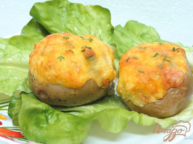 фото рецепта: Картофель фаршированный сыром