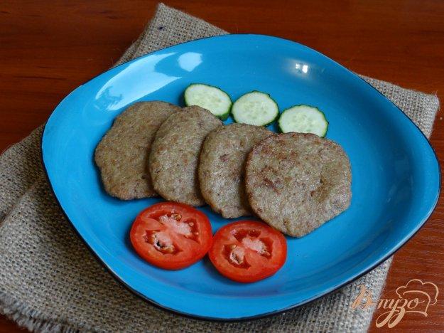 фото рецепта: Печеночно-кабачковые оладьи