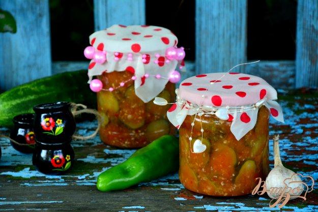 фото рецепта: Салат с огурчиками