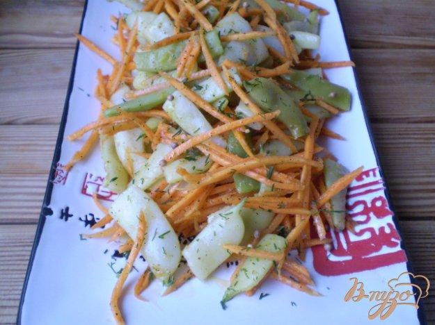 фото рецепта: Салат из фасоли стручковой