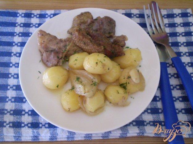 фото рецепта: Утка с картошкой по-домашнему