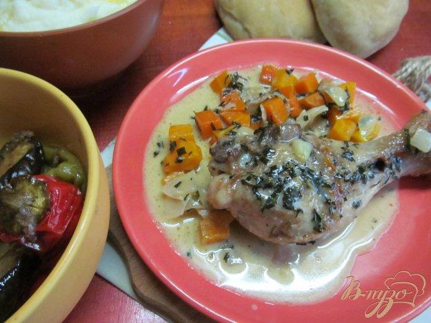 фото рецепта: Курица в соусе с тархуном