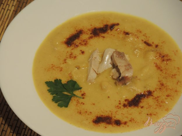 фото рецепта: Суп-пюре из кукурузы