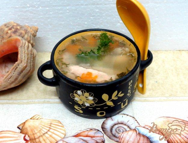 фото рецепта: Рыбный суп на курином бульоне