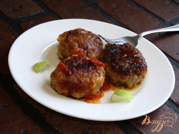 фото рецепта: Мясные тефтели с кус-кусом
