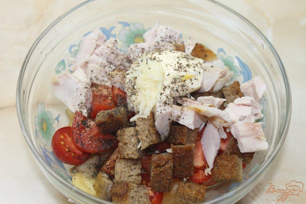 оставлять фототехнику салат с жареными грибами и копченной курицей этом