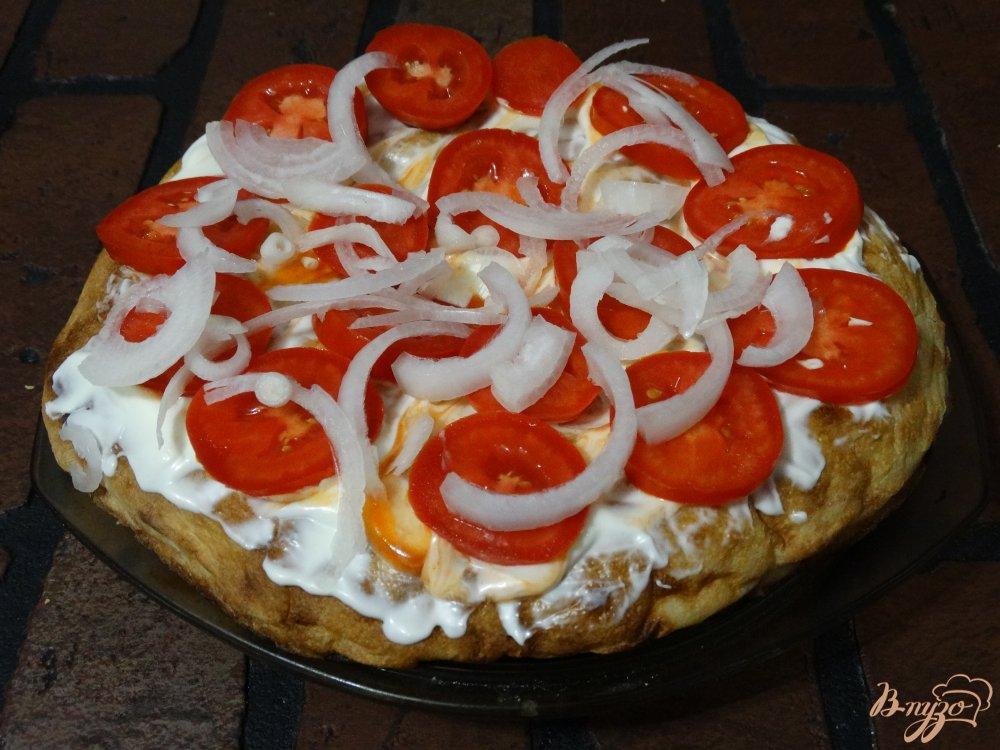 Рецепт Пицца с колбасой   1000menu