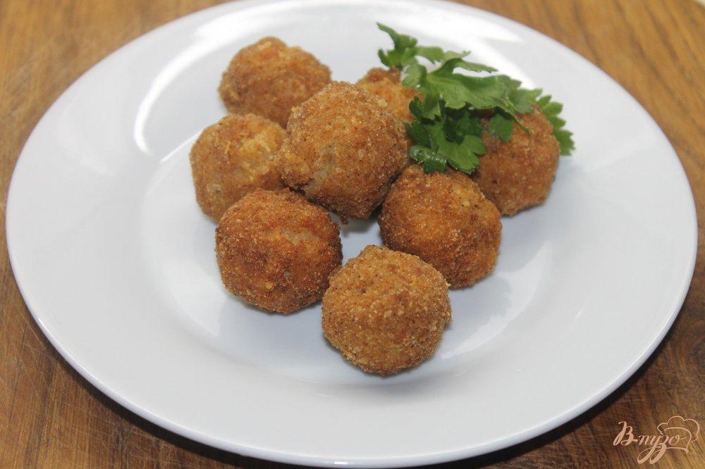 Куриные шарики в мультиварке рецепт с фото