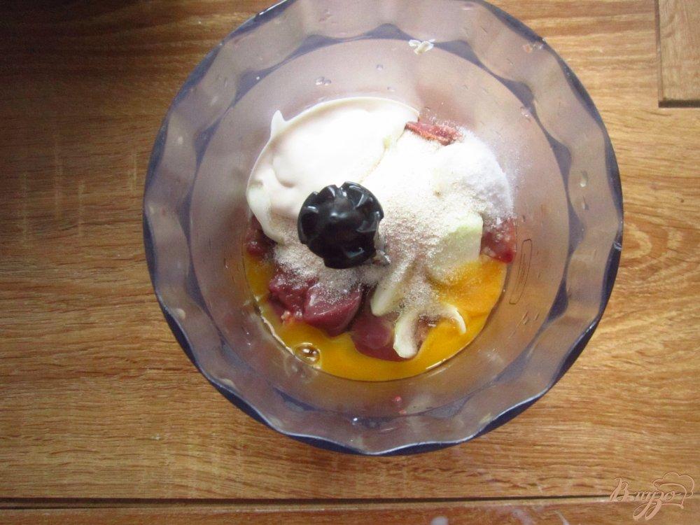 Рецепт Суфле из печени с овощами