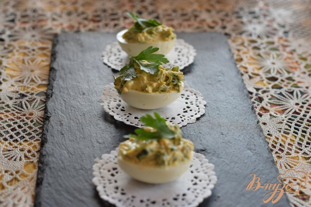 фото рецепта: Фаршированные яйца
