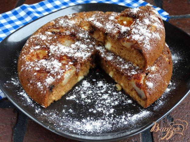 Пиріг в мультиварці з грушами і шоколадними краплями. Як приготувати з фото