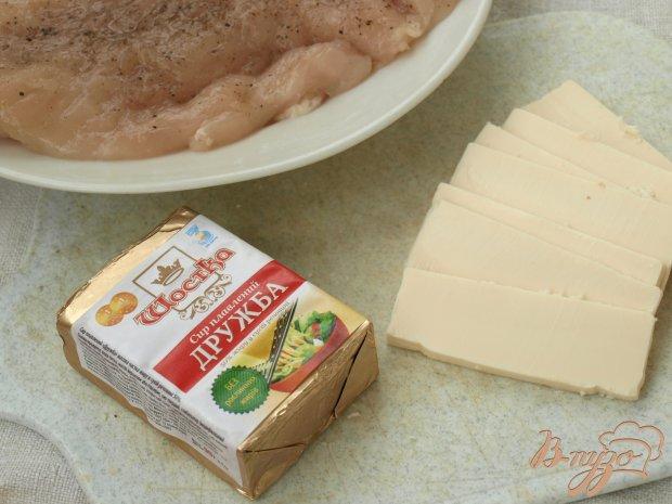 Рецепт Куриные рулетики с плавленым сыром