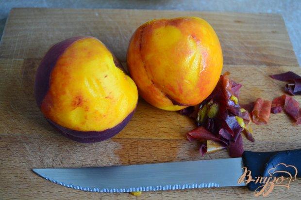 Рецепт Десерт из персиков с йогуртом